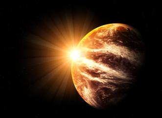 Fantastic beautiful flare