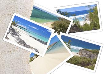 sable de plage et photos de l'île Rodrigues
