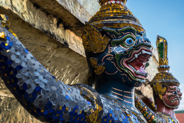 Demon Guardian at Wat Phra Kaeo