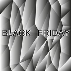 black friday polygon backgrond