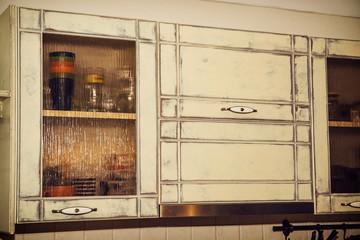 Kitchen retro cabinets