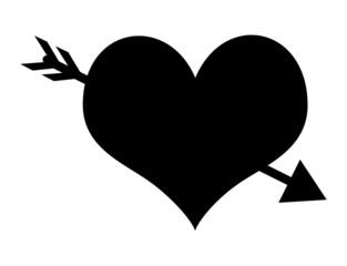 Arrow Heart Shape