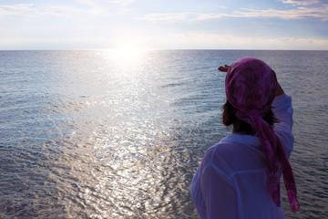 Enjoying the sea all senses