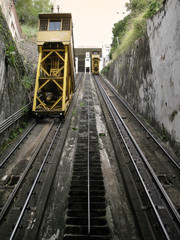 Train elevator in Salvador da Bahia. Brazil