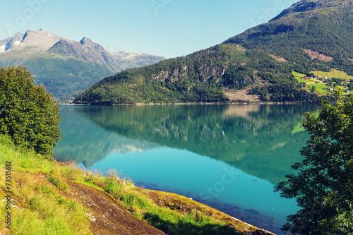 Lake in Norway - 73515612