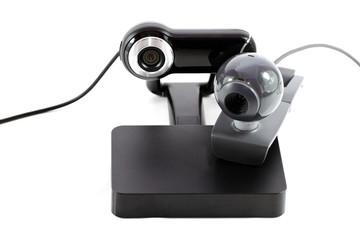 Webkamera mit Externer Festplatte