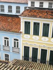 View of Pelourinho. Salvador da Bahia. Brazil