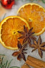 Orange Sternanis