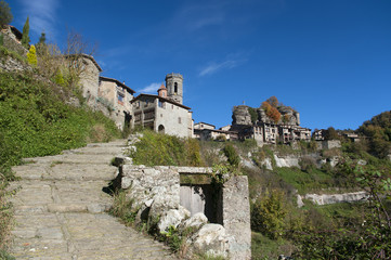View of Rupit.Catalonia.Spain