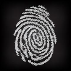 Sketchy fingerprint