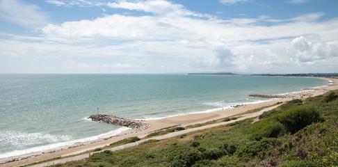 La côte anglaise