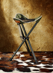 folding seat for hunters