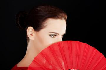 Portrait of a latino dancer