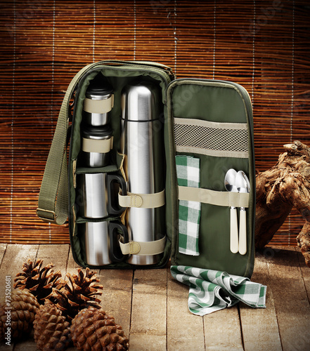Foto op Aluminium Jacht picnic small bag for hunter