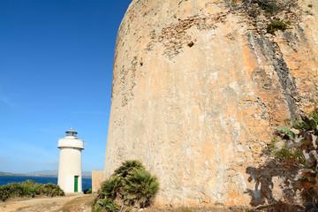 historic sighting tower in Porto Conte
