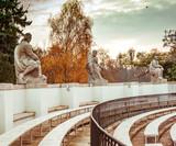 amphitheatre in Lazienki Park