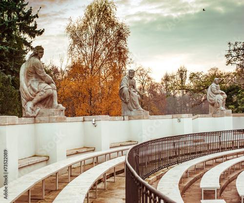 amphitheatre in Lazienki Park - 73522089