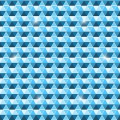 Beautiful seamless hexagon pattern background