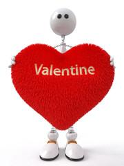 Fun 3d Valentine