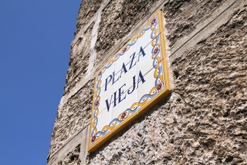 Havana Plaza Vieja, Cuba