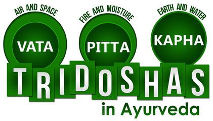 Tridoshas In Ayurveda Three Circles Stripes