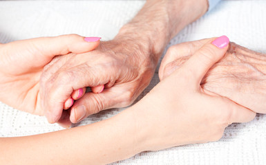 care is at home of elderly