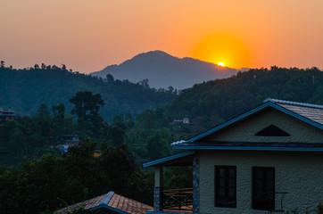 Dawn over Lake Begnas Nepal