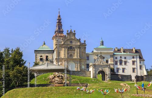 Fototapeta Klasztor i Bazylika na Świetym Krzyżu (Holy Cross Monastery)