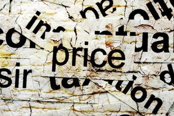 price word cloud