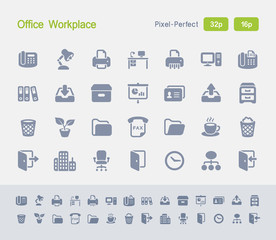 Office Workplace   Granite Icons