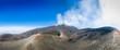 Mount Etna volcano panorama