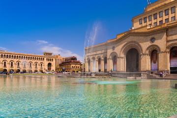 Republic  Square Yerevan Day