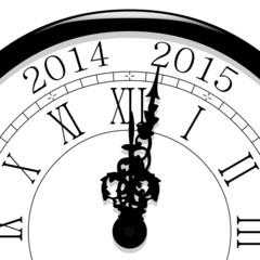 Horloge. Passage à 2015