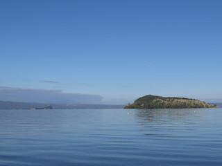 Le isole del lago di Bolsena