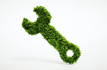 Eco spanner icon