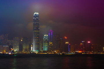 Avenue  Stars Laser Show in Hong Kong