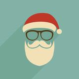 Fototapety Santa Claus icon.
