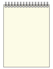 Blank Reporter Notepad
