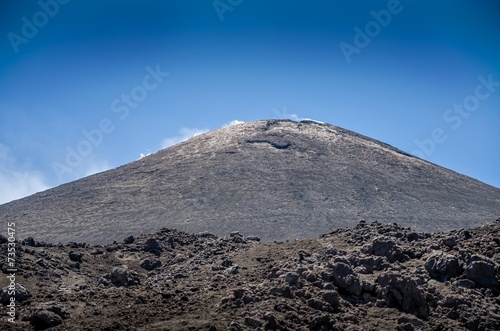 canvas print picture Etna, Sicily ,Italy.