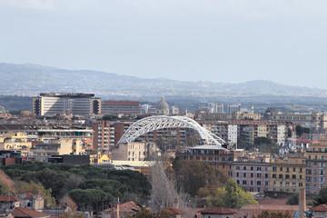 Lazio building in Rome, Italy