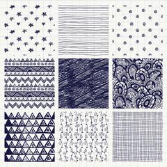Pen Drawing Seamless Textures