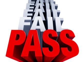 First You Fail, Finally You Pass