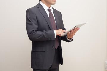 商談をするビジネスマン
