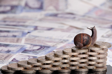Slow money growth or investment