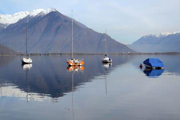 barche al lago