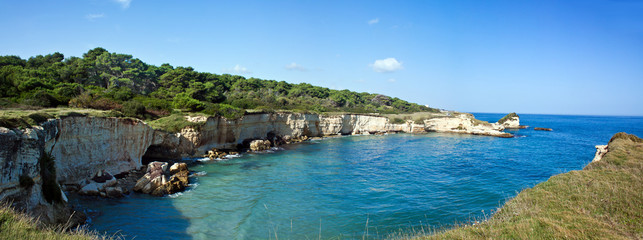 Salento - Torre dell'Orso, panoramic view