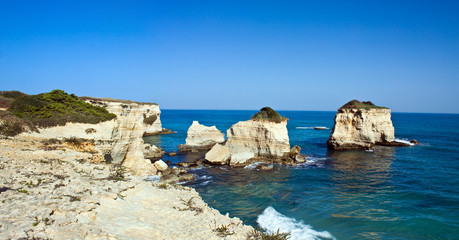 Salento, Torre dell'Orso, panoramic view
