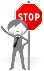 Stop, arrêt