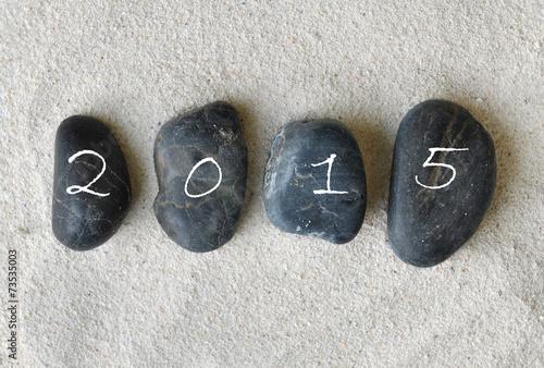 Papiers peints Zen pierres a sable 2015 sur galets