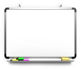 Whiteboard Clipchart Pinwand mit Stiften